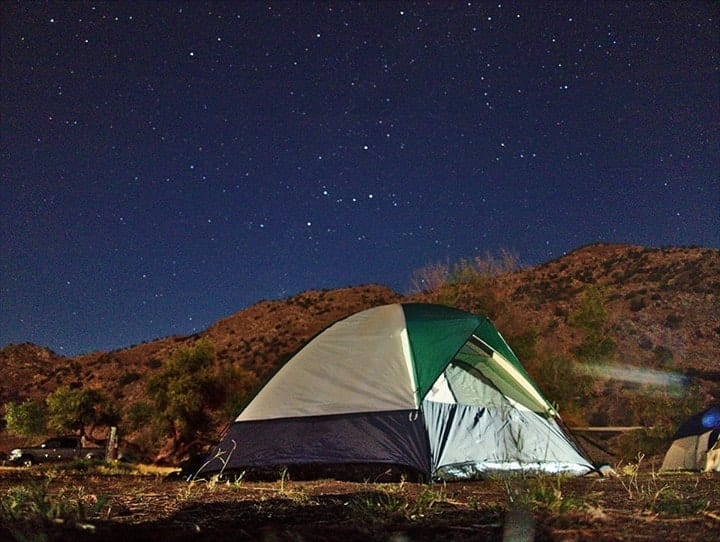 free camping site in usa