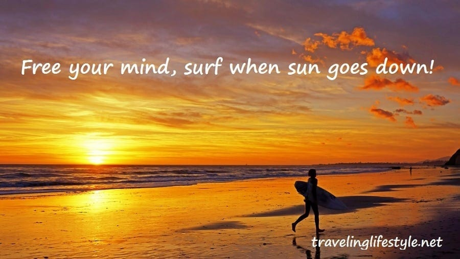surfing travel quote