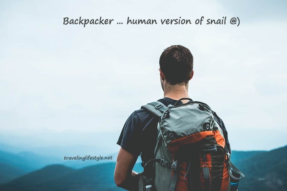 backpacking traveler quote