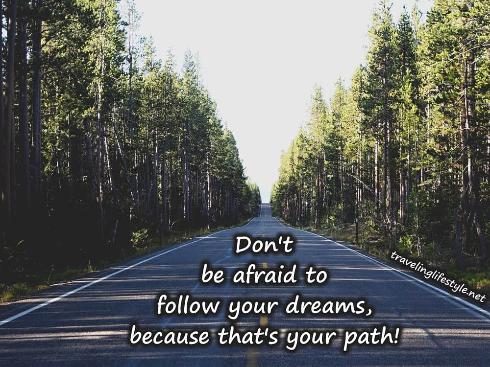 follow your dreams quote