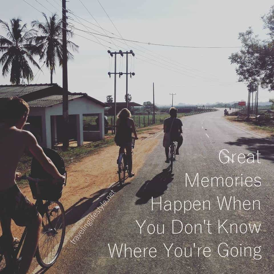 backpcking travel quote