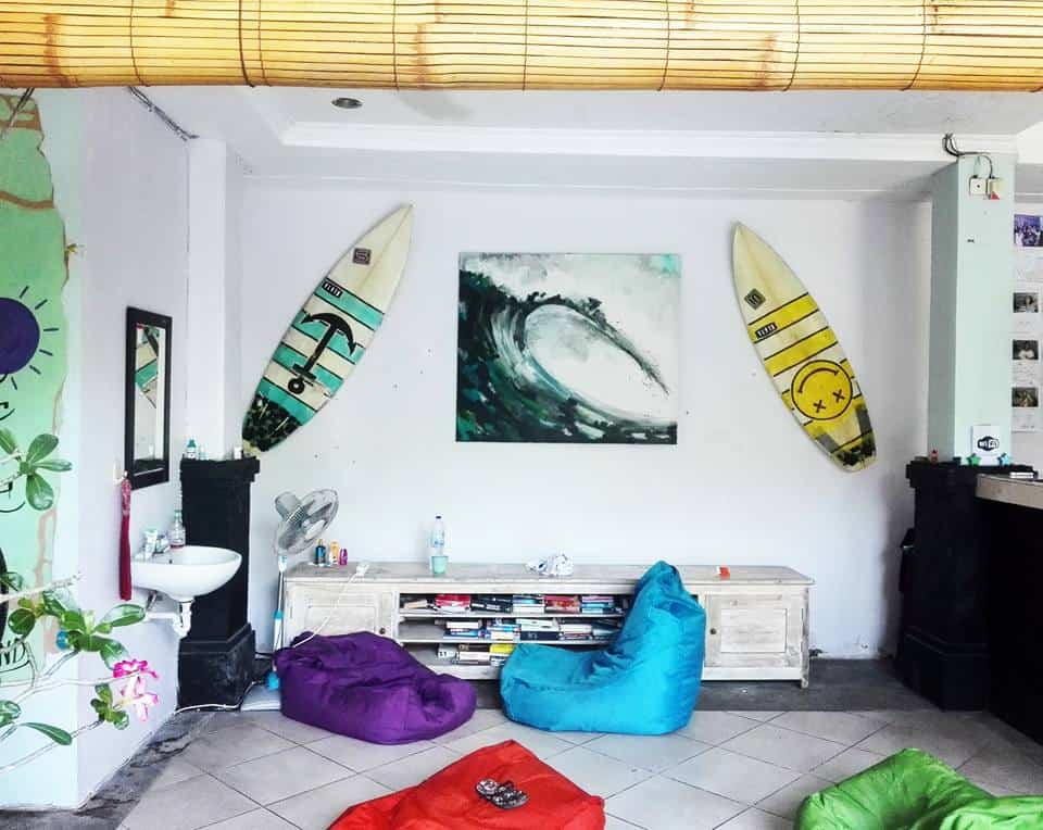 canggu surf hostel - traveling lifestyle