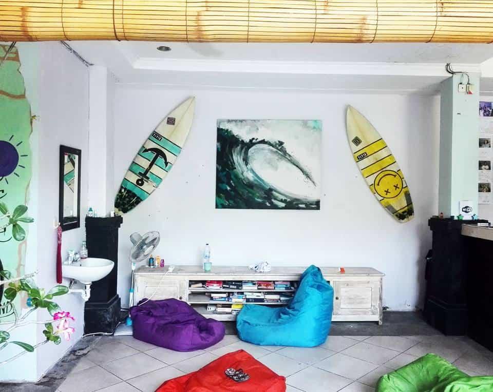 canggu surf hostel - traveling lifestyle